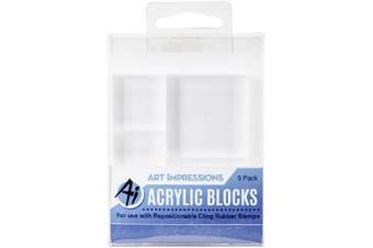 Art Impressions Acrylic Block Set