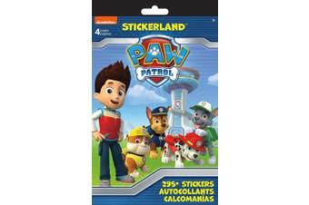 SandyLion Paw Patrol Stickerland Pad