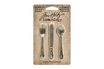 Idea-Ology Metal Adornments 6.4cm 9/Pkg