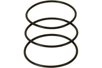 (Version A) - APEC Replacement O-Ring for 25cm Reverse Osmosis Water Filter Housing, 8.9cm Diameter (3 pcs O-RING-SET)