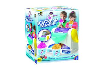 AMAV Toys Ice Cream Maker Machine Toy - Make Your Own Home Made Ice - Cream Multi Colour