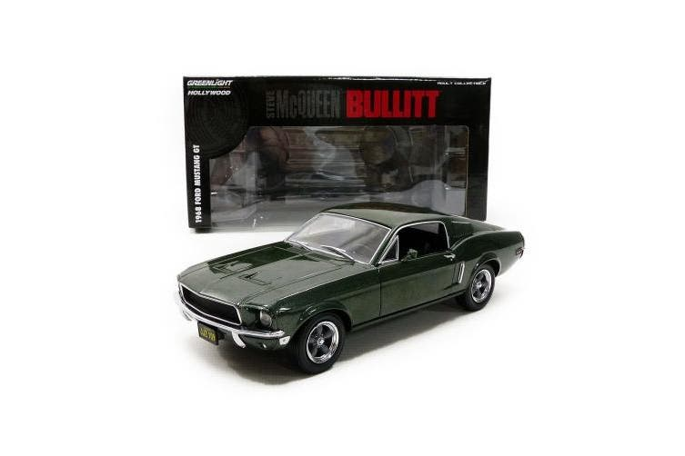GreenLight - (1:24 Scale) Bullitt (1968) - 1968 Ford Mustang GT Fastback - 84041