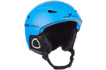 (Small, blue - blue) - Black Crevice Kitzbühel Ski Helmet