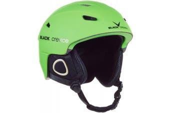 (Medium, Green - green) - Black Crevice Kitzbühel Ski Helmet