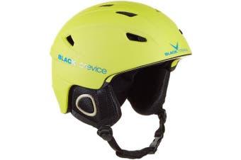(Medium, Yellow - yellow) - Black Crevice Kitzbühel Ski Helmet