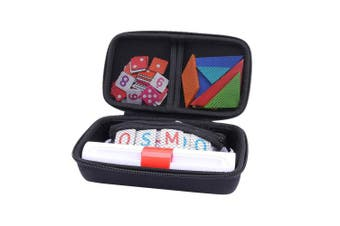 (Black) - Storage Organiser Case for Osmo Genius Kit, fits OSMO Base/Starter/Numbers/Words/Tangram/Coding Awbie Game by Aenllosi
