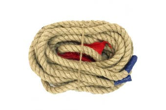 EASYGO 15m TUG OF WAR ROPE WITH FLAG – KIDS and ADULTS FAMILY GAME – TEAM BUILDING – SOFT ROPE - PROFESSIONAL LONG LASTING