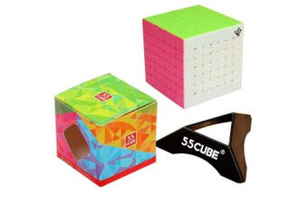 7x7 Cube Stickerless, New Structure - More Smoothly Than Original 7x7 Cube By 55CUBE