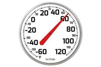 LaCrosse 104-1522 La Crosse 22cm Round Dial Thermometer