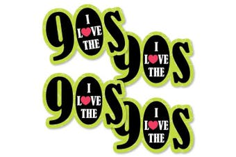 90's Throwback - 90s Decorations DIY 1990s Party Essentials - Set of 20