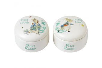 Beatrix Potter Peter Rabbit Tooth and Curl Box by Beatrix Potter