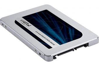 (500 GB, MX500) - Crucial MX500 500 GB CT500MX500SSD1(Z)-Up to 560 MB/s (3D NAND, SATA, 6.4cm , Internal SSD)