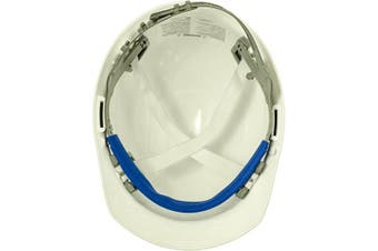 (White) - ERB 19761 Americana Cap Style Hard Hat with Slide Lock, White