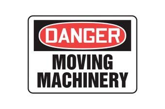 ACCUFORM SIGNS Danger Sign, Alum, 25cm x 36cm , English MEQM060VA