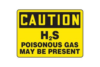 ACCUFORM SIGNS Caution Sign, 25cm x 36cm , BK/YEL, AL, ENG MCHL707VA