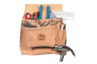 Graintex SS1292 5 Pocket Nail and Tool Pouch, Left Handed