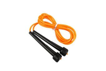 (Orange) - 2fit Boxing Jumping Skipping Rope Speed Fitness / Work Out / Plastic / Nylon Rope Various Colours
