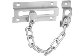 (Satin Chrome) - National Hardware V807 Door Chain, Die Cast Zinc, Satin Chrome