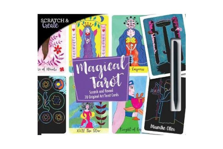 Scratch & Create Magical Tarot: Scratch and Reveal 78 Original Art Tarot Cards (Scratch & Create)