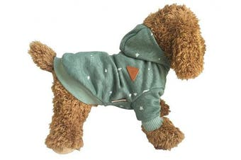 (M) - Eastcities Pet Kitty Clothes Dog Hoodies for Small Dogs Cat