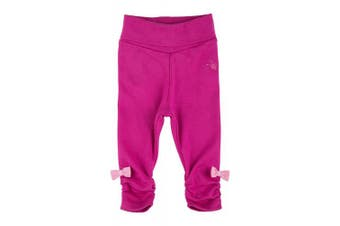(0 - 3 Months, Rosa (Rose Violet 672)) - Sigikid Baby Girls' Leggins Leggings