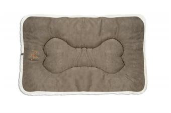 (Medium, Olive Green) - Best Pet Supplies MT865T-XL Washable Dog Crate Mat