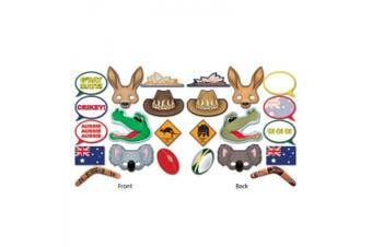 Beistle 54953 Australian Photo Booth Fun Signs