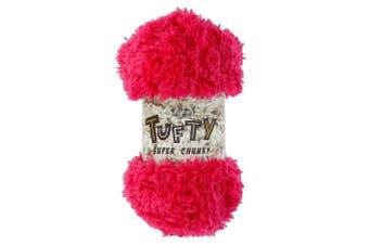 (2793 Peony) - King Cole Tufty Super Chunky 200g Knitting Yarn (2793 Peony)