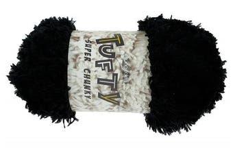 (2790 Black) - King Cole Tufty Super Chunky - Black 2790 - 200g
