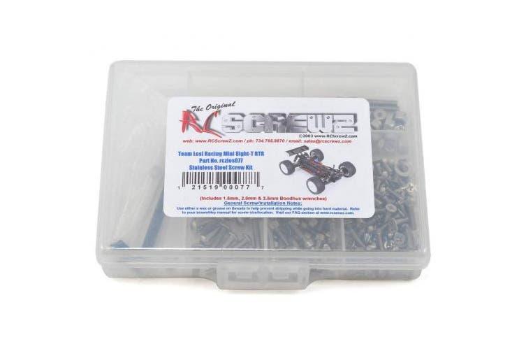RCScrewZ Losi Mini 8ight-T RTR Stainless Steel Screw Kit #los077