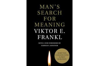Man's Search for Meaning [Large Print]