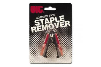 Officemate Classic Staple Remover with Red Handle (30080)