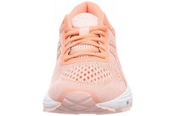 (39.5 EU (6 UK), (Seashell Pink / Begonia Pink / White)) - ASICS GT-1000 6 Women's Running Shoes (T7A9N)