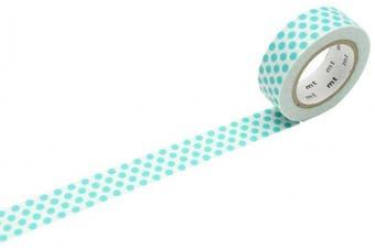 """mt Masking Tape 1P """"Dot Soda"""" Washi Masking Tape - Soda"""
