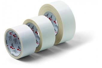 (50 mm x 25 m) - Schuller Double-Sided Tape with Fabric | Cotton Twin Tape 50 mm x 25 m 1 Roll