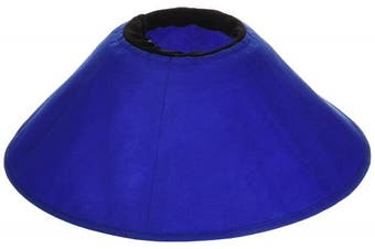 (Fits 18cm  - 38cm  Neck/17cm  Depth) - KVP EZ Soft Pet Cloth Recovery Collar
