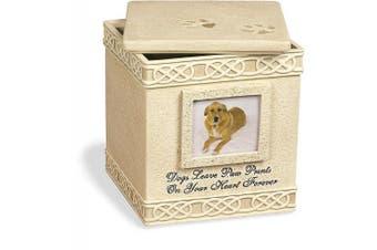 (light brown) - AngelStar 15cm Pet Urn for Dog