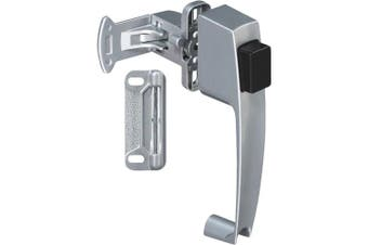 (Silver) - National Hardware N178-368 V1316 Pushbutton Latches in Silver, 1-3/4