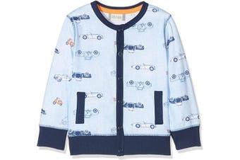 (0-3 Months, Blau (Blue Fog 5597)) - Sanetta Baby Boys' Jacket