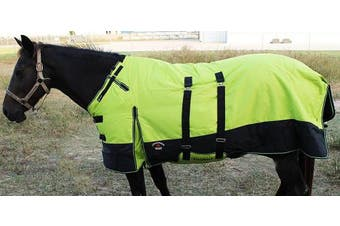 1200D Turnout Waterproof Horse Tough WINTER BLANKET HEAVY BellyBand