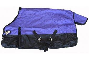 (130cm , Purple) - 600D Medium Weight Horse Pony Blanket Water Proof Rip Stop