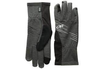 (Black, Large) - Outdoor Research Shiftup Sensor Gloves