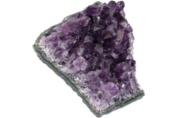 (Amethyst(0.5-0.6lb)) - SUNYIK Natural Amethyst Quartz Crystal Cluster,Druzy Geode Specimen Gemstone Sculpture Sphere(0.2-0.3kg)