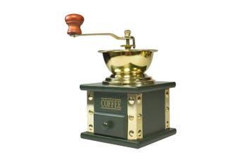 bisetti 61139 Arpeggio Coffee Grinder, Olive Wood, Green