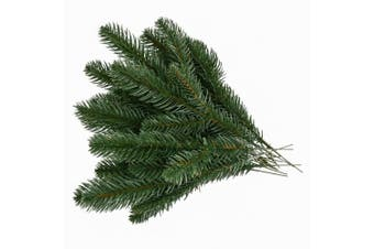 Biowow Artificial Pine Picks Pine Needle Garland Christmas Artificial Greenery Holiday Home Decoration,Set of 20