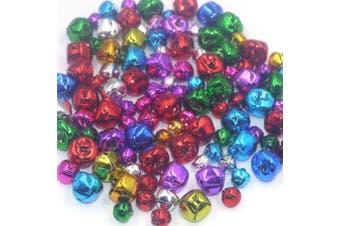 Craft Kits And Supplies 100 Mix Colourful Christmas Jingle Bells