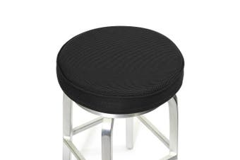 "(14""(35cm), Black) - Bar Stool Cushions,Memory Foam Bar Stool Covers Round Cushion with Non-Slip Backing and Elastic Band by Shinnwa 36cm Black"