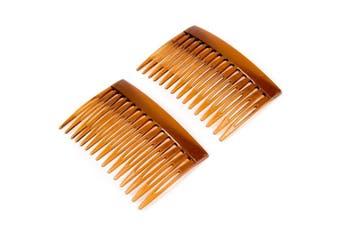 6x Tortoise Shell Side Hair Combs