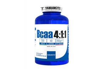 YAMAMOTO NUTRITION Bcaa 4:1:1 200 tablets