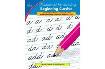 Traditional Handwriting: Beginning Cursive, Grades 1 - 3 (Traditional Handwriting Traditional Handwriting)